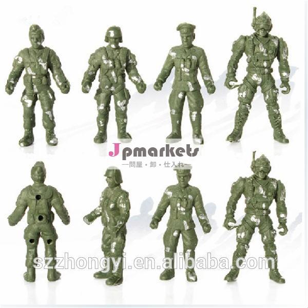 高品質の革新ファクトリーカスタム製品プラスチックおもちゃの兵士問屋・仕入れ・卸・卸売り
