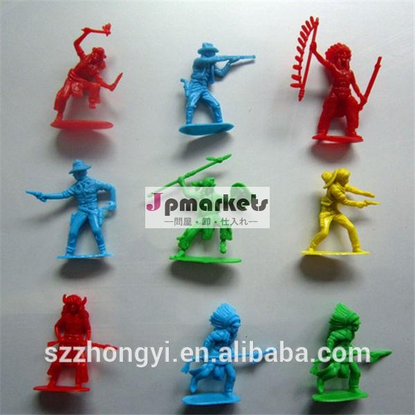 最高seling2014年製品カスタム高品質プラスチックおもちゃの軍の兵士問屋・仕入れ・卸・卸売り
