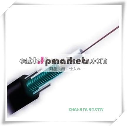 安い屋外繊維24コアマルチモード光ファイバケーブルgyxtw鋼線で問屋・仕入れ・卸・卸売り