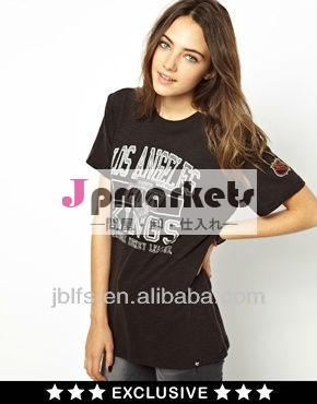 95綿5スパンデックスtシャツの女性問屋・仕入れ・卸・卸売り