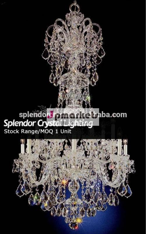 有鉛の水晶のシャンデリアの照明器具高在庫で問屋・仕入れ・卸・卸売り