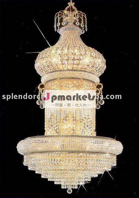 設計の豪華な豪華な宮殿30%pbo結晶照明器具問屋・仕入れ・卸・卸売り