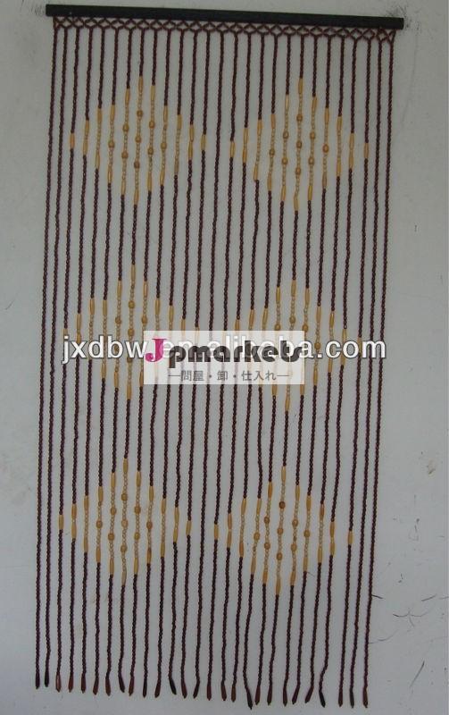 竹塗装装飾的なビーズのドアカーテン問屋・仕入れ・卸・卸売り