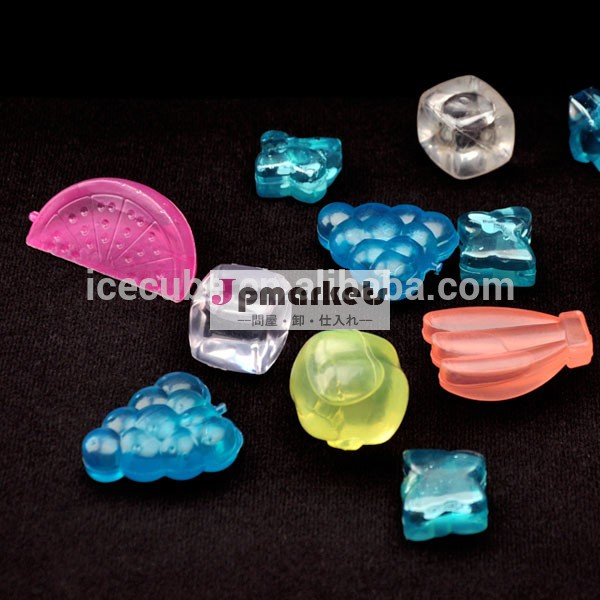 新製品2014年再利用可能なプラスチックpctgアイスキューブ透明bpaフリー問屋・仕入れ・卸・卸売り
