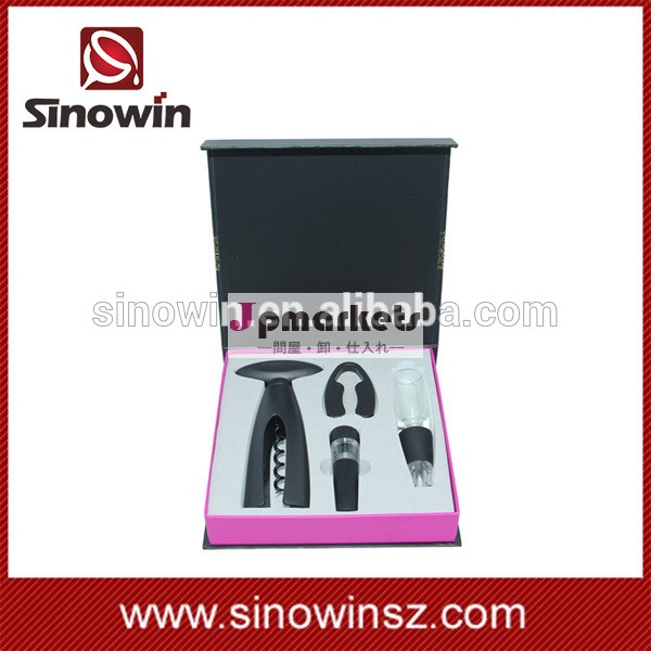 2014 promotional wine decanter gift set with customized logo printed問屋・仕入れ・卸・卸売り
