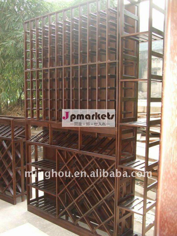 家庭用家具の木材木材に色が付いているワインセラーキット問屋・仕入れ・卸・卸売り
