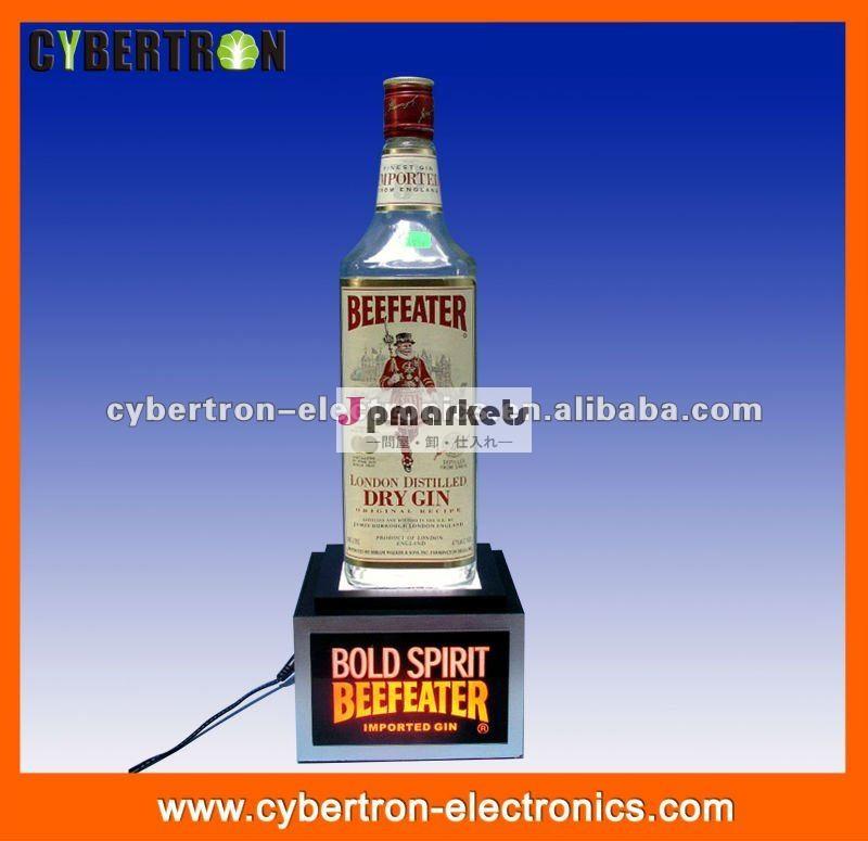 手作りのアクリル広告led照明のボトル栄光を与える人の表示問屋・仕入れ・卸・卸売り