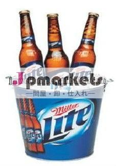 ミラーライトビール5qt金属の氷のバケツ問屋・仕入れ・卸・卸売り
