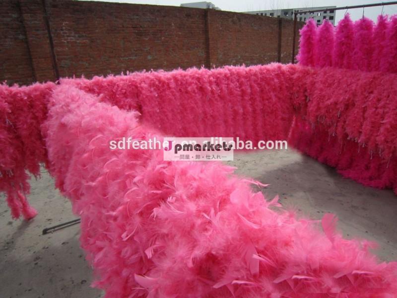 安いフェザーボアを飾る結婚式やパーティーのための七面鳥の羽ボア問屋・仕入れ・卸・卸売り