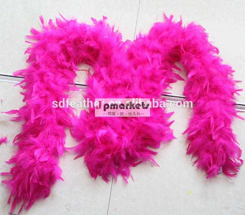 七面鳥の羽ボア80gパーティー結婚式の装飾的な七面鳥の羽ボア安いフェザーボア問屋・仕入れ・卸・卸売り