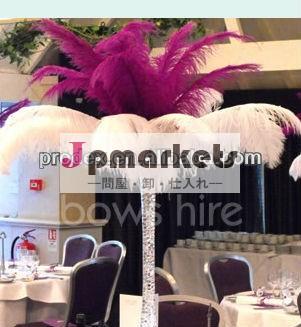 結婚式の装飾のための人工ダチョウの羽問屋・仕入れ・卸・卸売り
