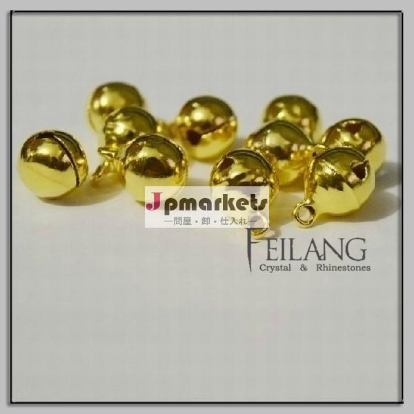 小さな金のお祭りの装飾真鍮ベル問屋・仕入れ・卸・卸売り