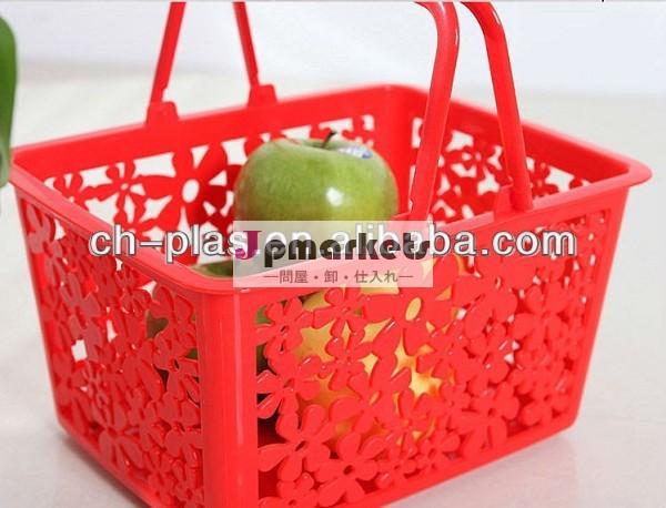 果物用のプラスチック製のストレージバスケット卸売問屋・仕入れ・卸・卸売り