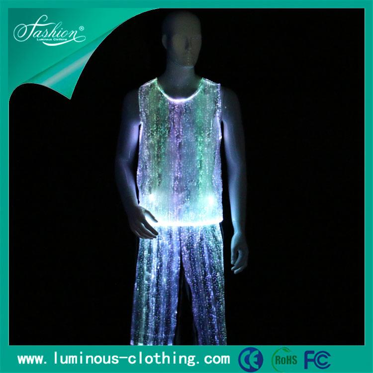 rgb照明発光ledライトファッション男子ダンス衣装-作業着問屋・仕入れ・卸・卸売り