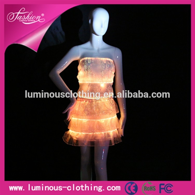 光ホットファッション2015暗闇の中で最大パフォーマンスの衣装-作業着問屋・仕入れ・卸・卸売り