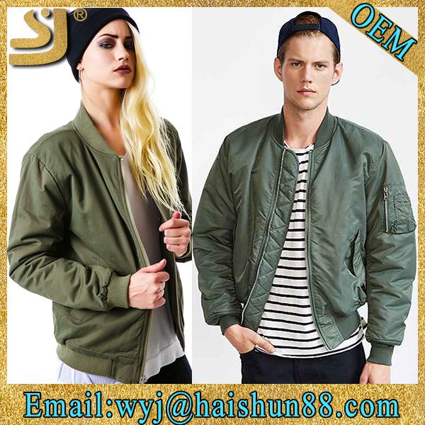 卸売カスタムclassicicalナイロンの女性と男性の冬のボンバージャケット-ジャケット問屋・仕入れ・卸・卸売り