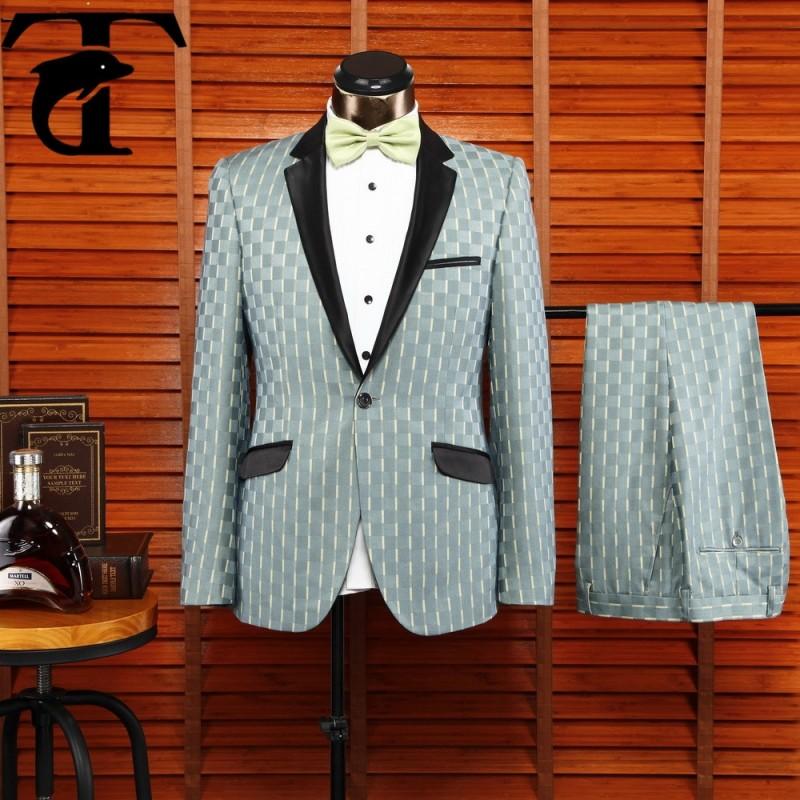 カスタム2015作られた新しいスタイリッシュフォーマル男性用ビジネススーツ-スーツ、タキシード問屋・仕入れ・卸・卸売り