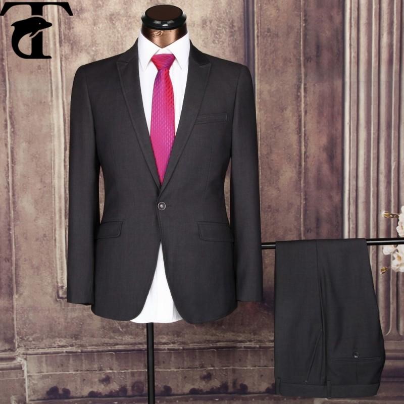 卸売価格2個coat+pantファッションメンズのビジネススーツ-スーツ、タキシード問屋・仕入れ・卸・卸売り