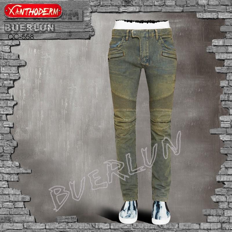 ユニークなファッションファンキーな男性のセクシーなジーンズのリッピングファンキーなジーンズブランドの新しいモデル-ジーンズ問屋・仕入れ・卸・卸売り