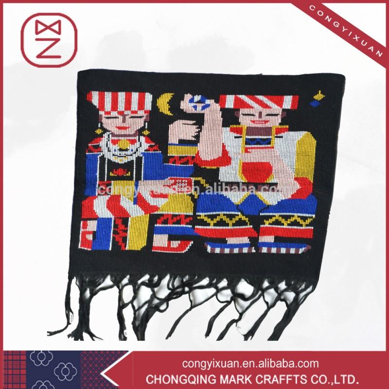 綿100%のファブリックの家の装飾ハンドメイドの工芸品-ブロケードの工芸品問屋・仕入れ・卸・卸売り
