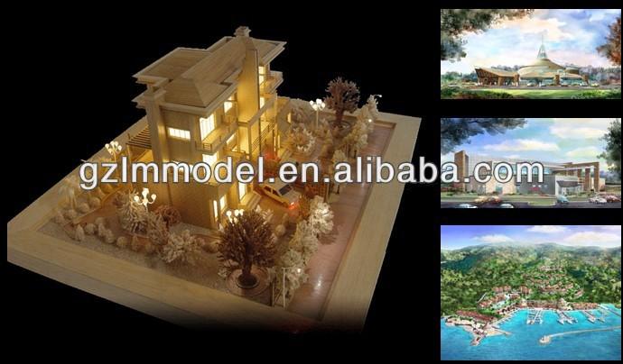 建築スケールモデルは作る/不動産/ビーチヴィラ/hoスケールooong-記念品問屋・仕入れ・卸・卸売り
