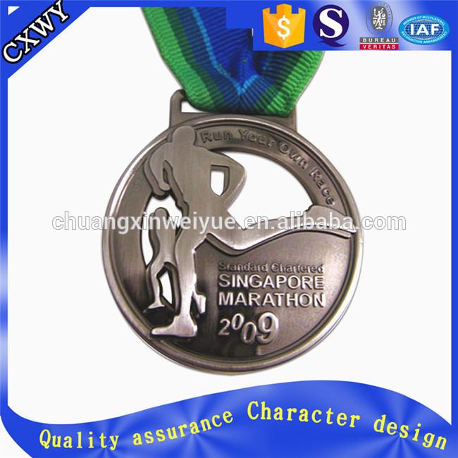 工場出荷時の価格スポーツカスタムランニングマラソン金メダル-民芸品問屋・仕入れ・卸・卸売り