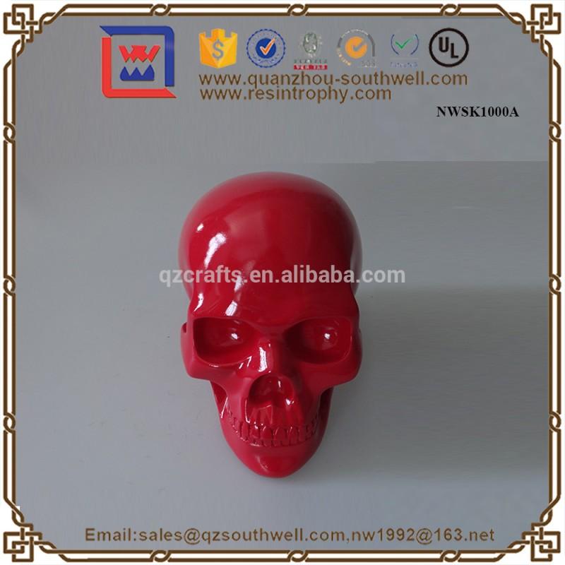 卸売人間の頭蓋骨樹脂の頭蓋骨の樹脂の彫刻カスタム等身頭蓋骨-樹脂工芸品問屋・仕入れ・卸・卸売り