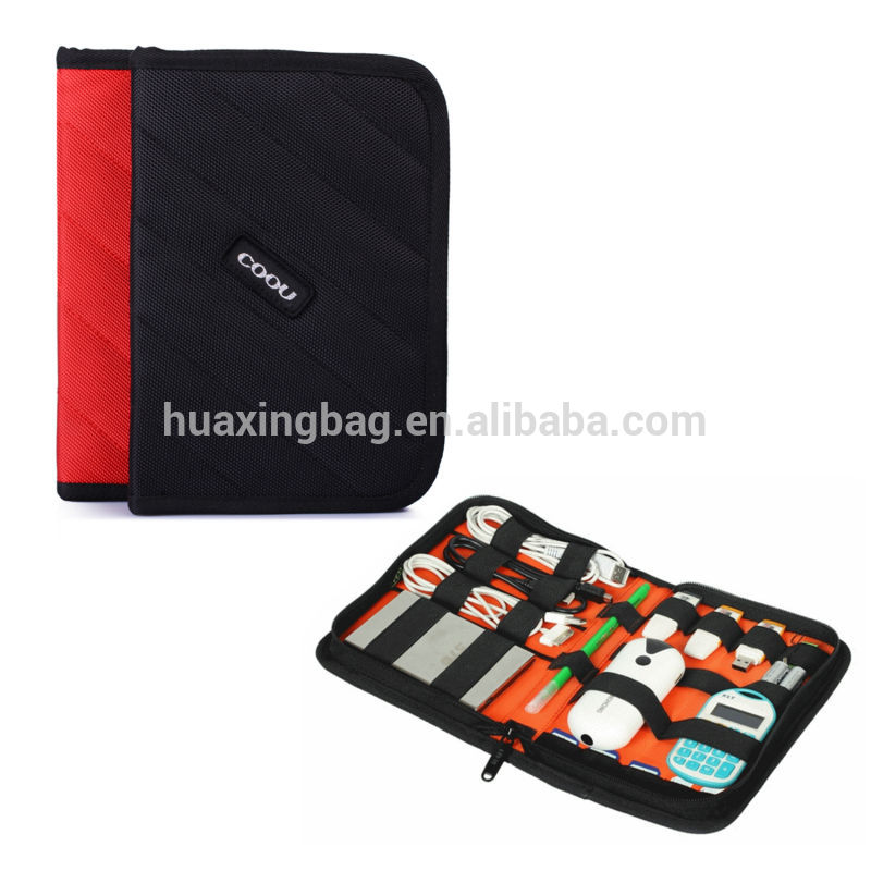 大coouケーブルハードディスクドライブケースエレクトロニクスアクセサリートラベルデジタルストレージオーガナイザーポータブルバッグ-その他デジタルギア、カメラバッグ問屋・仕入れ・卸・卸売り