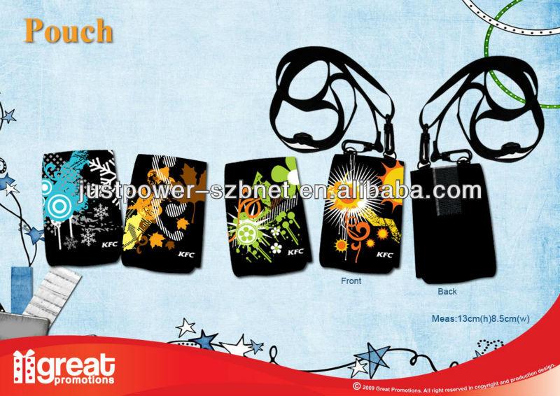 ネオプレンかわいい機動電話袋-バッグ素材問屋・仕入れ・卸・卸売り