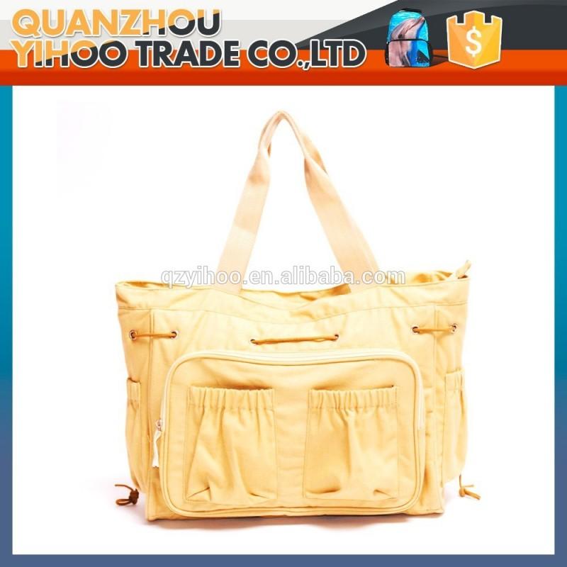 カラフルな手2015女性ファッションキャンバスバッグ高品質の買い物袋-ハンドバッグ問屋・仕入れ・卸・卸売り
