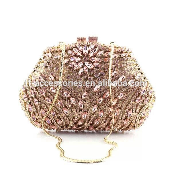 ファッションデザイナーのクリスタルバッグ、 クリスタルイブニングバッグパーティー-ハンドバッグ問屋・仕入れ・卸・卸売り