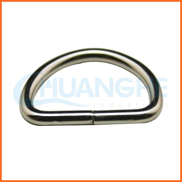 中国サプライヤーステンレス鋼溶接されたdリング-バッグ用パーツ問屋・仕入れ・卸・卸売り