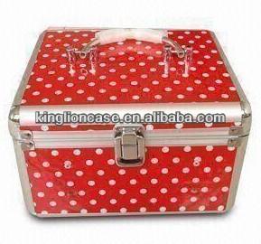 ポータブルかわいい赤kl-mc205化粧ケース-その他バッグ類問屋・仕入れ・卸・卸売り