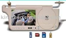 SD/USB/FM/GAMEの7inch車のsunvisorのDVDプレイヤー-携帯用DVDのVCDプレーヤー問屋・仕入れ・卸・卸売り