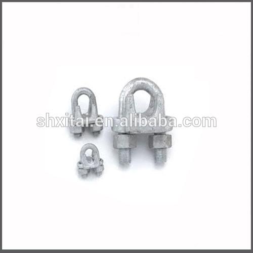電気柵のロープ小さな可鍛性ワイヤーロープクランプコネクタ-クランプ問屋・仕入れ・卸・卸売り