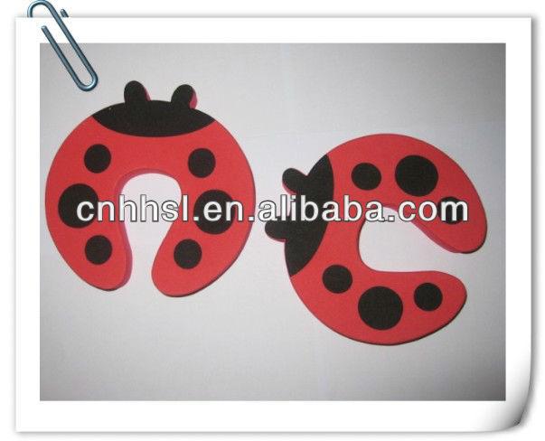 赤面白いテントウムシ/てんとう虫の形のエヴァのドアストッパー-ドアストッパー問屋・仕入れ・卸・卸売り