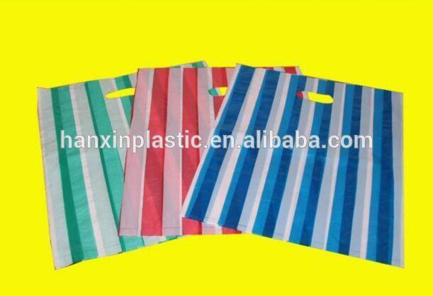 Hdpe/ldpeカスタムデザインダイカットビニール袋卸売-包装袋問屋・仕入れ・卸・卸売り