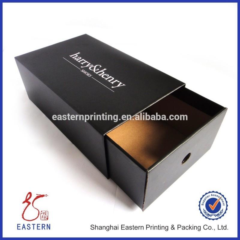 カスタム印刷されたロゴ付き紙の靴箱、 段ボール靴箱-梱包箱問屋・仕入れ・卸・卸売り
