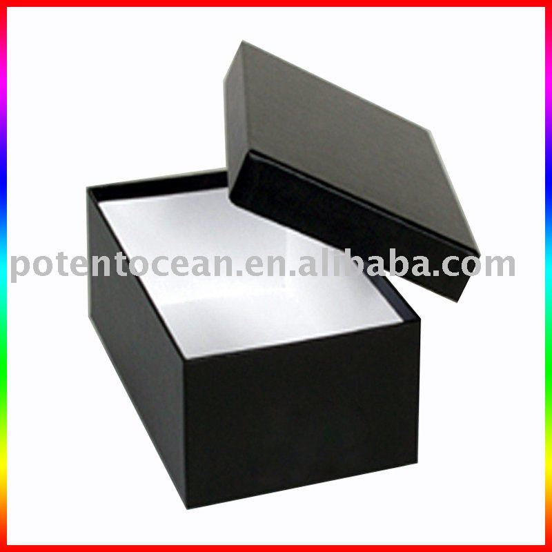 ツーピース紙の靴箱-梱包箱問屋・仕入れ・卸・卸売り