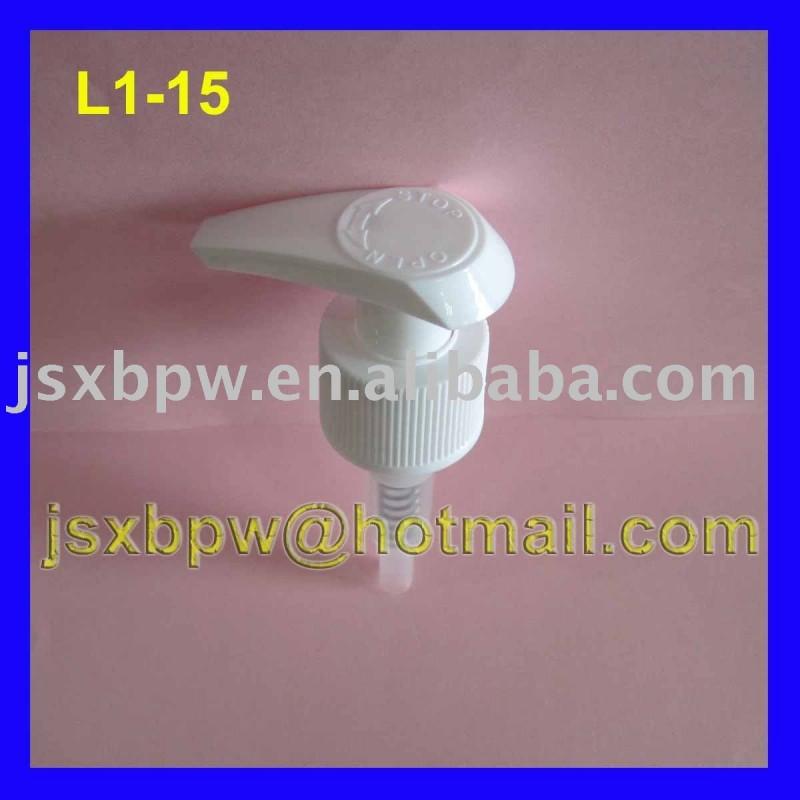 プラスチックローションは24/410をポンプでくむ-ふた、キャップ類問屋・仕入れ・卸・卸売り