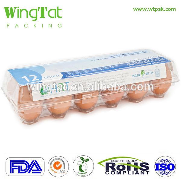 プラスチック卵パッキングボックス用12ピースegges-包装用トレー問屋・仕入れ・卸・卸売り
