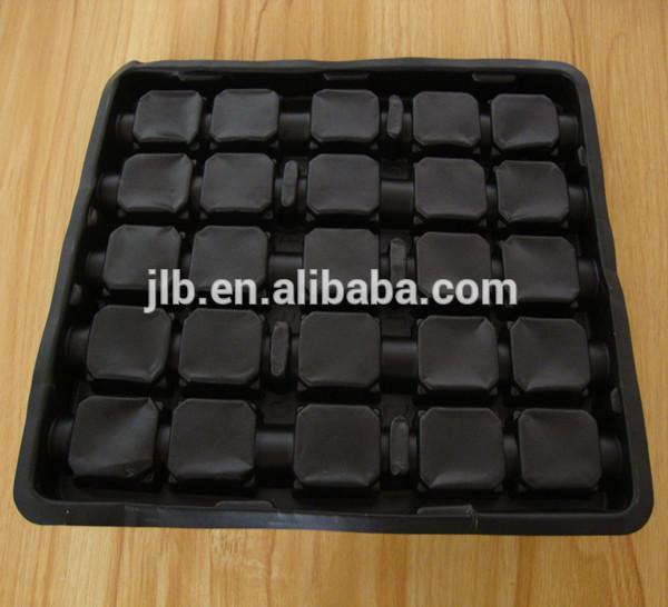 黒のpvcブリスターカットカメラレンズ用のプラスチック製電気ボックス-包装用トレー問屋・仕入れ・卸・卸売り