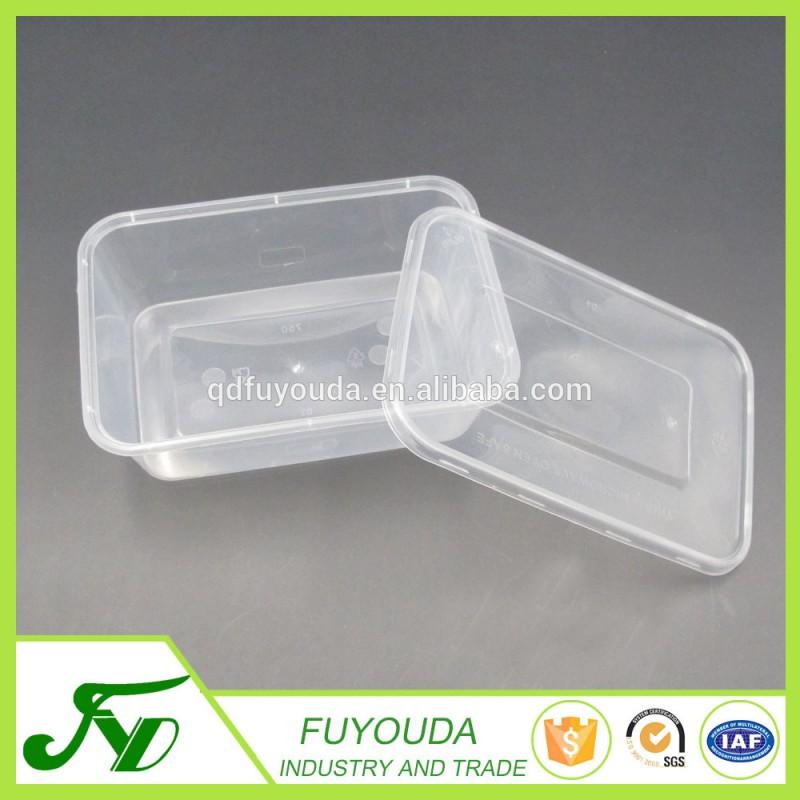 長方形のプラスチック製の使い捨て熱い販売テイクアウト食品容器-包装用トレー問屋・仕入れ・卸・卸売り