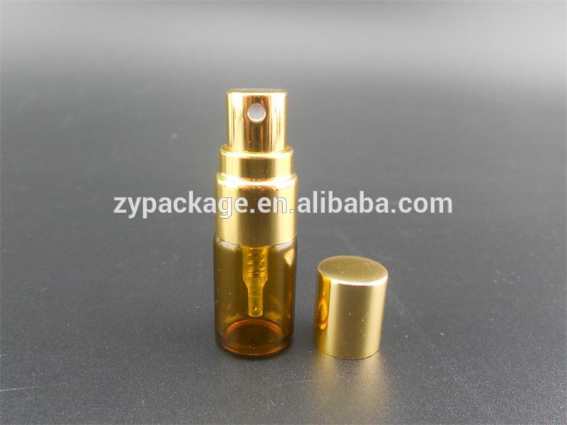2ml( 5/8dram) 琥珀色のガラスエッセンシャルオイルのボトルを微細なミスト噴霧器-ボトル問屋・仕入れ・卸・卸売り