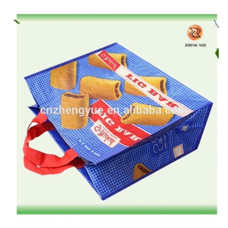 カスタムメイドのペットショッピングbag/プラスチックボトルリサイクルpet袋/ペット不織布バッグ-ハンドル問屋・仕入れ・卸・卸売り