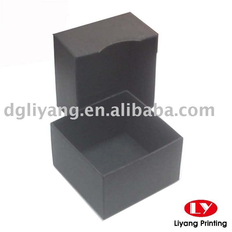 黒い段ボールタバコギフトボックス( ベース・蓋)-梱包箱問屋・仕入れ・卸・卸売り