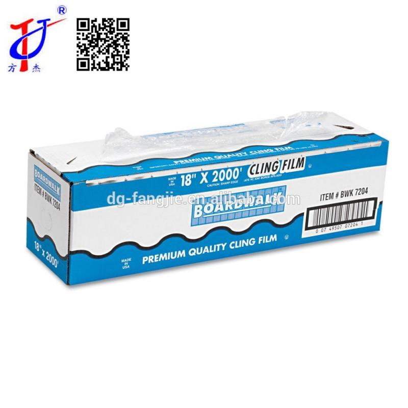 耐久性のある包装pvc2420しがみつくフィルムロールカッター付ボックス-フィルム類問屋・仕入れ・卸・卸売り