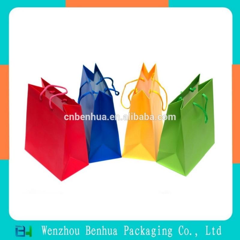 ファッショナブルなギフトバッグ紙バッグショッピングバッグ-包装袋問屋・仕入れ・卸・卸売り