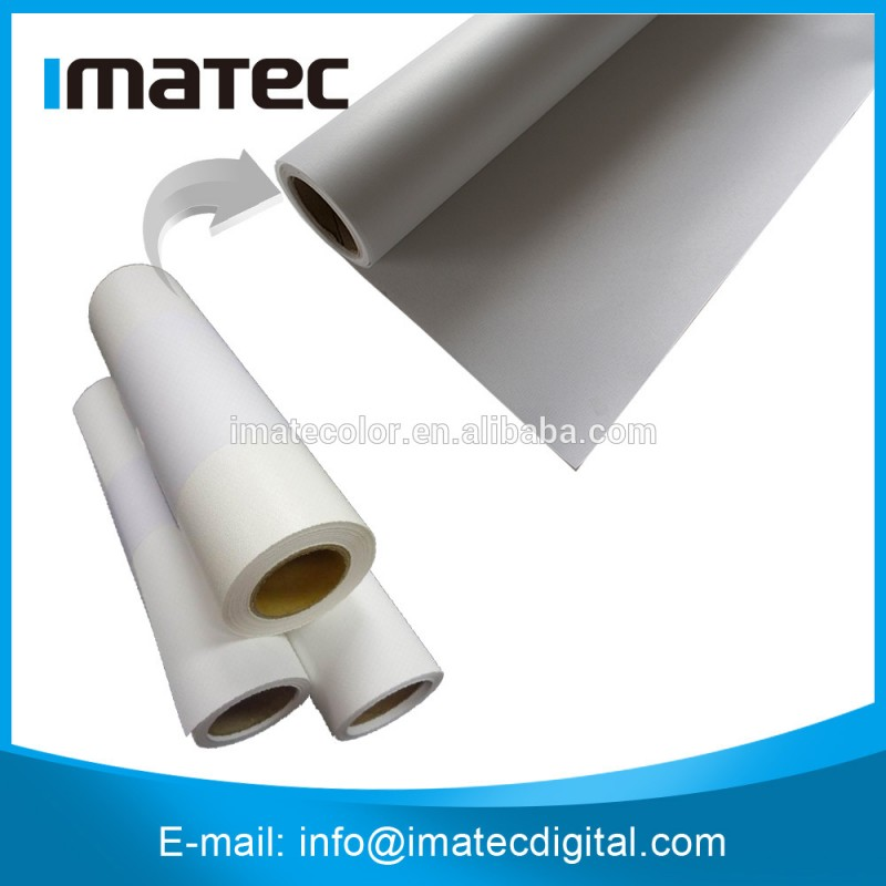 110gsm用インクジェットメディアと絹織物キャンバスポリエステル100%顔料インクのため-その他印刷用資材問屋・仕入れ・卸・卸売り