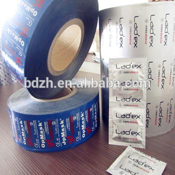 積層カスタム印刷アルミ箔包装用コンドーム-問屋・仕入れ・卸・卸売り